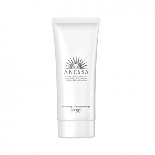 【直邮】日本Shiseido资生堂安耐晒防晒霜面部专用白管90g