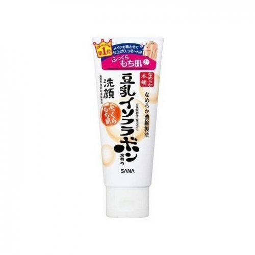 【直邮】日本Sana莎娜豆乳美肤洗面奶深层清洁保湿敏感肌可用150g