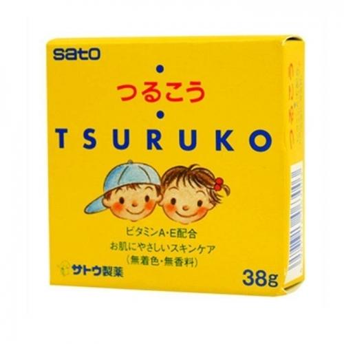 【直邮】日本SATO佐藤婴幼儿面霜干燥防皴润肤面霜38g