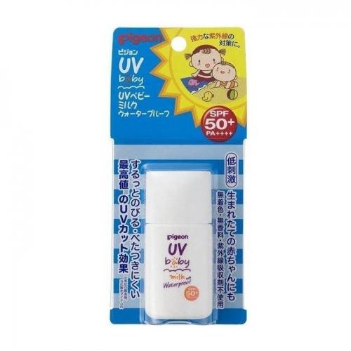 【直邮】日本Pigeon贝亲婴幼儿童隔离防晒霜防水SPF50 20g