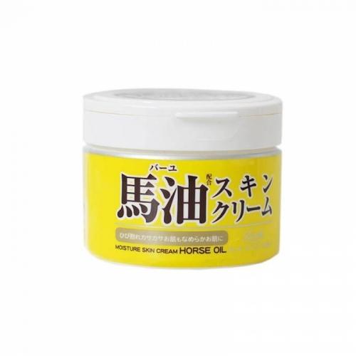 【直邮】日本Loshi马油面霜补水保湿滋润防干裂220g