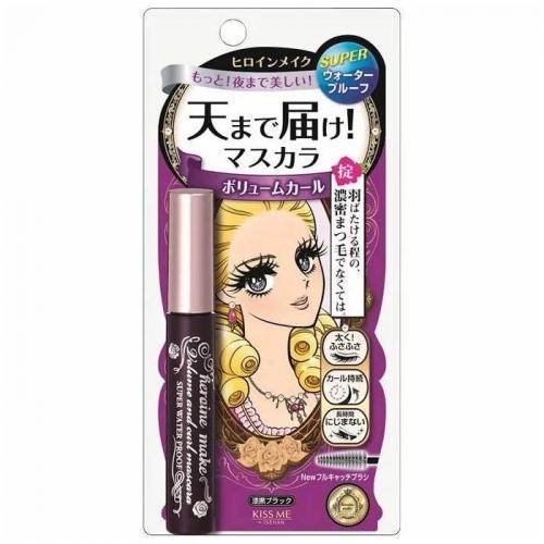 【直邮】 日本Kiss Me 奇士美睫毛膏防水纤长卷翘不晕染...