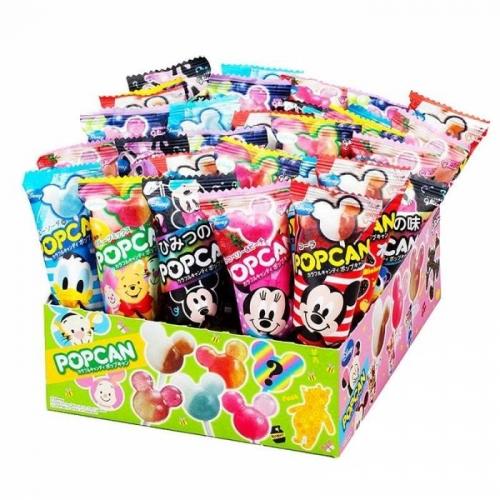 【直邮】日本Glico固力果网红迪斯尼米奇棒棒糖创意卡通儿童...