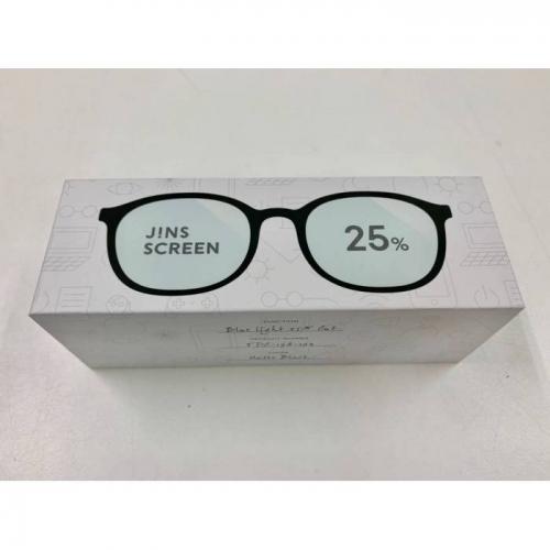 【直邮】日本JINS睛姿防蓝光眼镜抗防辐射护目镜成人款25%...