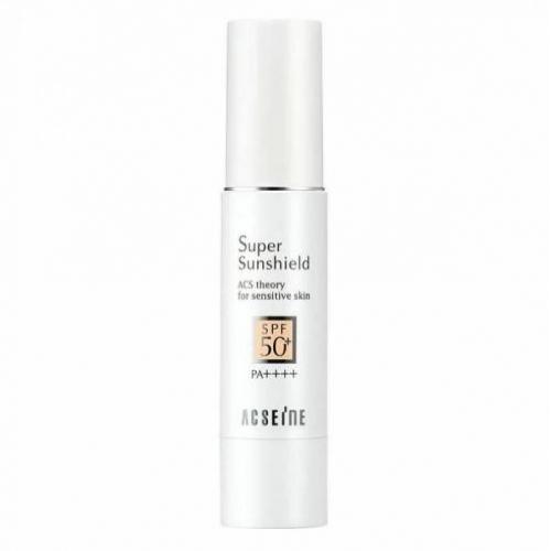 链接已下架【直邮】日本ACSEINE雅倩美敏感肌专用防晒隔离乳spf50pa++++28g