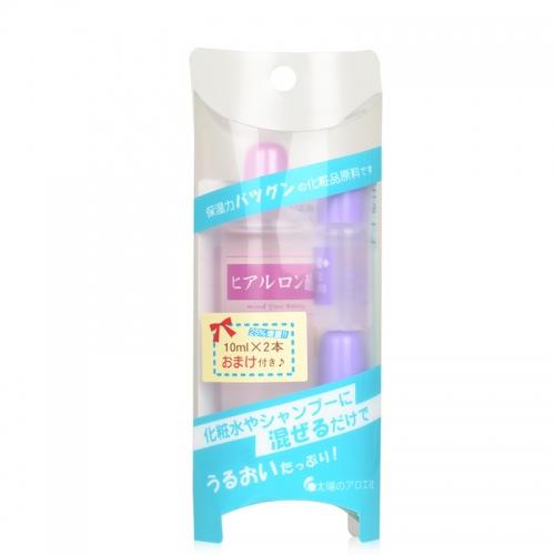 【直邮】日本COSME大赏太阳社玻尿酸透明质酸原液套装80ml+20ml