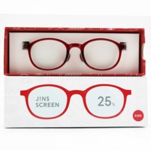 【直邮】日本JINS睛姿儿童防蓝光眼镜抗防辐射小孩护目镜型号...