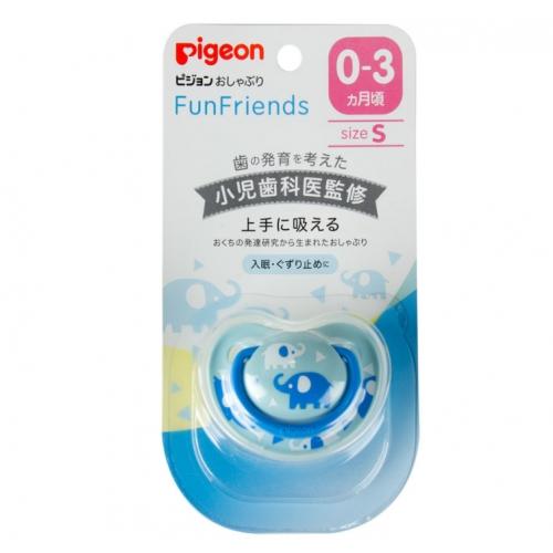 【直邮】日本Pigeon贝亲安抚奶嘴婴儿硅胶奶嘴动物系列