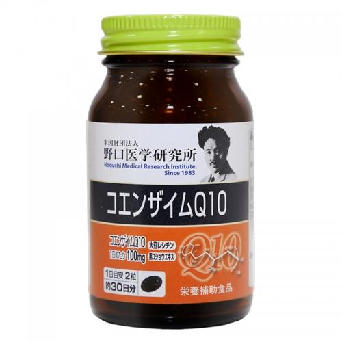 【直邮】日本Noguchi野口医学研究所辅酶Q10大豆卵磷脂...