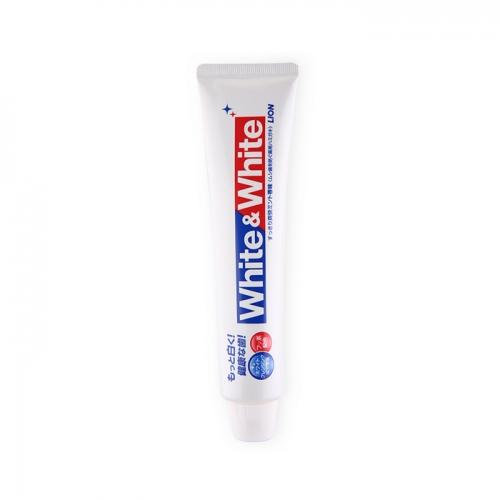 【直邮】日本Lion狮王WHITE WHITE大白牙膏150...