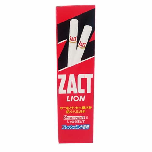 【直邮】日本Lion狮王ZACT特效去烟渍牙膏150g