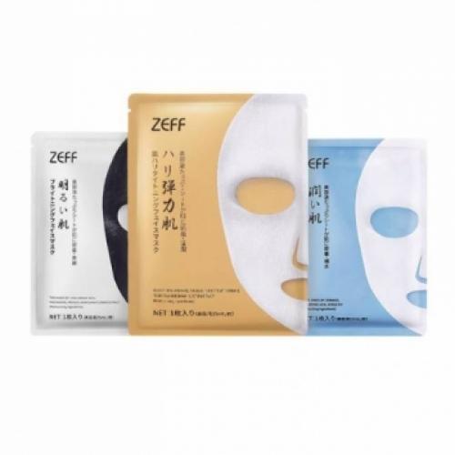 【直邮】日本ZEFF北海道温泉补水面膜6片装