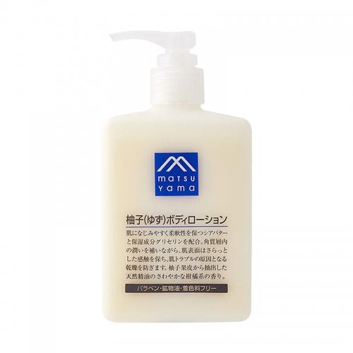 【保税】日本松山油脂(MATSUYAMA)柚子身体乳300m...