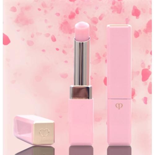 【直邮】日本CPB肌肤之钥樱花粉色变色唇膏润唇膏2.8g