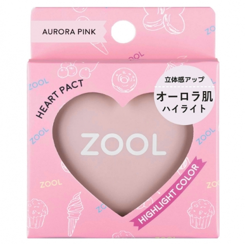 【批发】日本ZOOL爱心贴极光粉饼ZL-0006