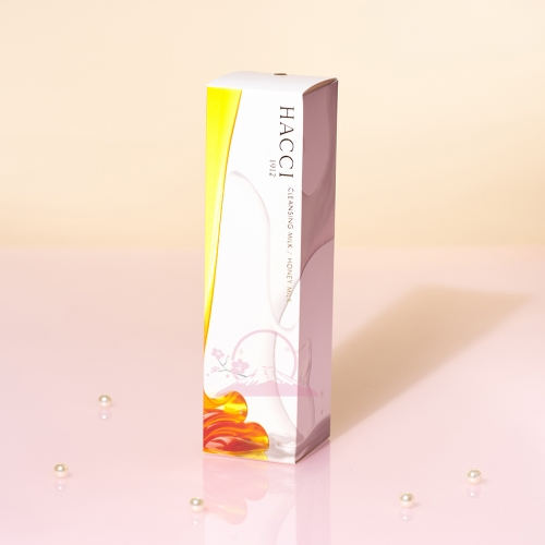 链接已下架【直邮】日本HACCI蜂蜜精华护肤温和卸妆乳190ml