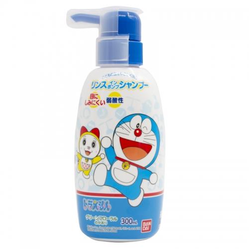 【保税】日本万代哆啦A梦系列洗护二合一300ml