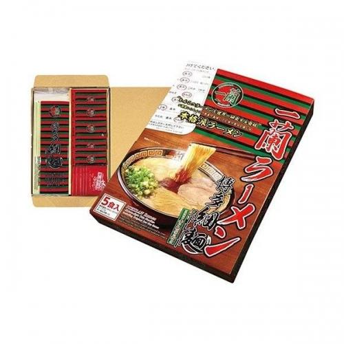 【直邮】日本ICHIRAN一蘭一兰拉面日式豚骨汤拉面直面1盒...