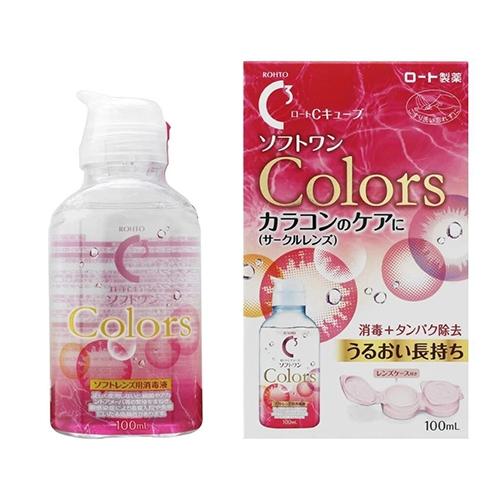 【保税】日本乐敦C3隐形眼镜护理液100ml
