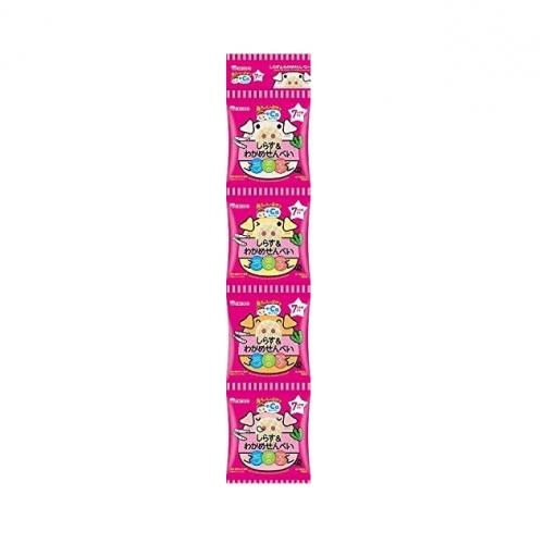 【批发】日本人气和光堂宝宝零食4连包磨牙饼入口即化酥脆富含D...