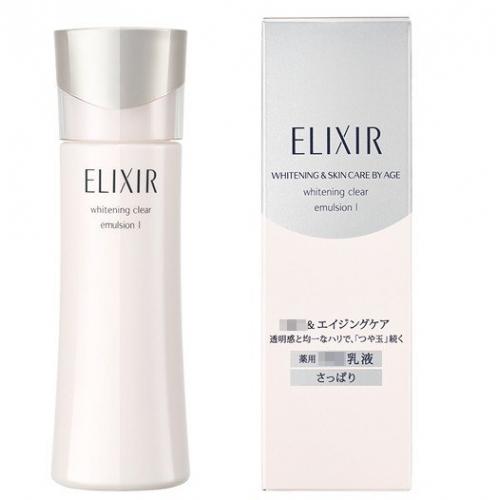 【批发】日本Elixir怡丽丝尔纯肌净白晶润乳液TI(滋润型...