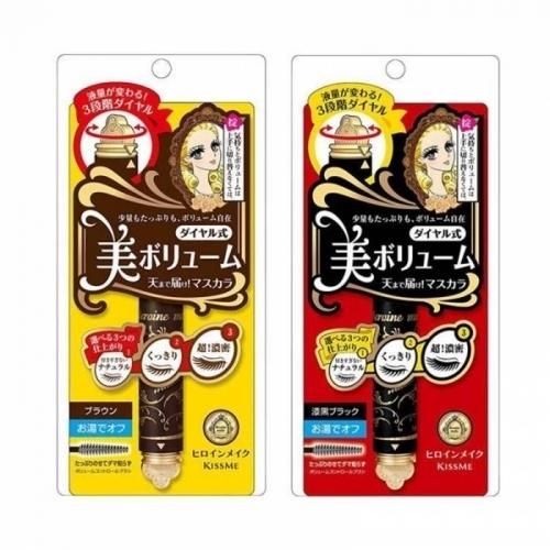 【直邮】日本Kiss Me奇士美三段可调浓密睫毛膏5g
