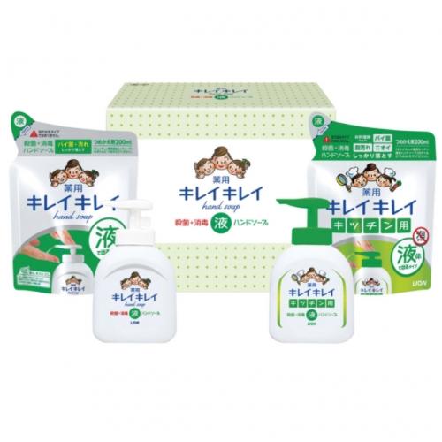 【批发】日本Lion王厨房去腥去油污油腻泡沫液体洗手液套装