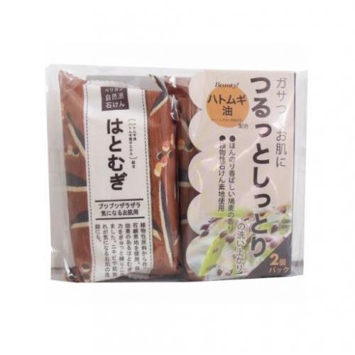 【批发】日本无添加薏仁薏米洁面皂/香皂手工皂保湿去角质