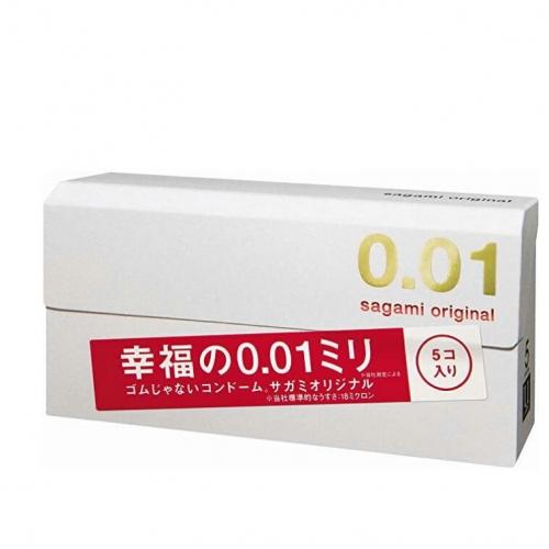 【保税】日本相模幸福001避孕套5枚