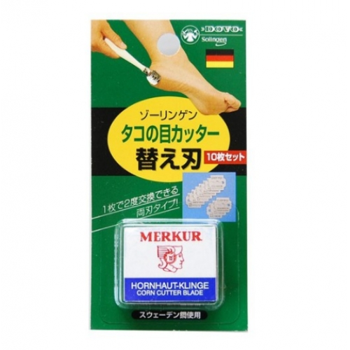 【批发】日本刮死皮的专用刀替换10片装