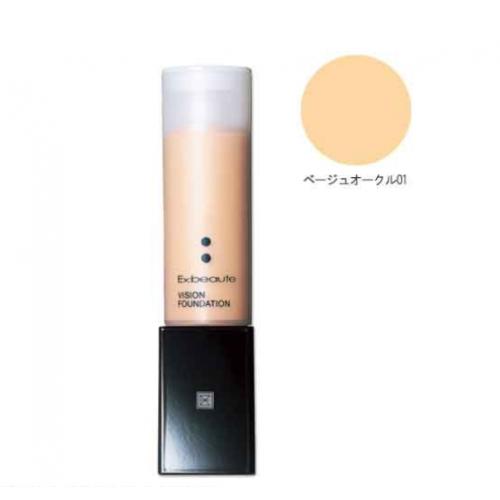 【批发】日本Ex:beaute女优肌防晒粉底液哑光款01