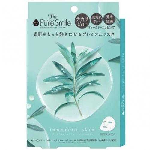 【批发】日本Pure Smile茶树面膜镇定收敛毛孔保湿滋润...
