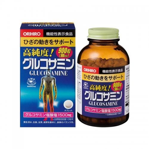【直邮】日本ORIHIRO立喜乐机能性表示食品氨糖软骨素氨基...