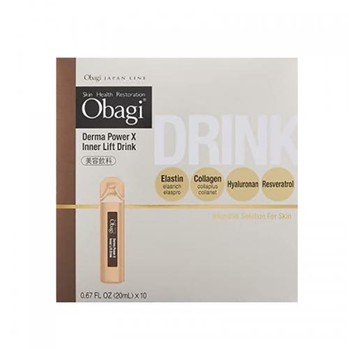 【直邮】日本Obagi抗糖口服液抗糖化液态饮美容浓缩版10支