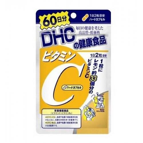 【直邮】日本DHC维生素C营养片增强免疫维他命C40粒/60...