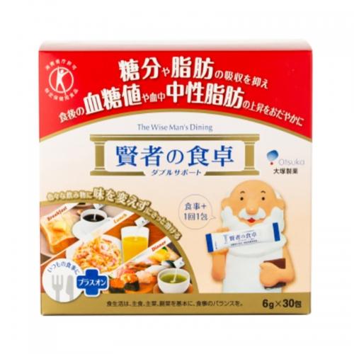 【直邮】日本大塚贤者食卓膳食纤维酵素抑制糖分和脂肪吸收30包