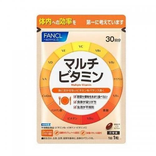 【直邮】日本FANCL芳珂复合维生素片辅酶Q10抗氧解压30...