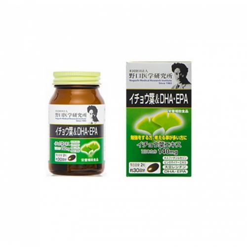 【直邮】日本Noguchi野口医学研究所银杏叶DHA/EPA...