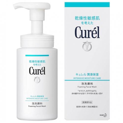 【保税】日本花王CUREL珂润浸润保湿泡沫洗面奶150ml