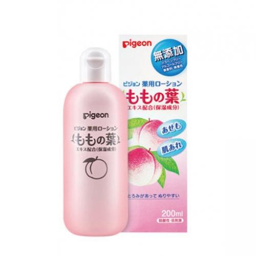 【保税】日本贝亲桃叶精华婴儿爽身露200ml