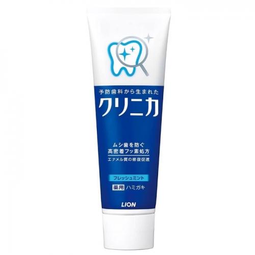 【保税】日本狮王蓝条酵素牙膏130g