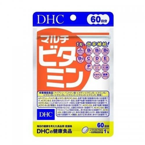 【直邮】日本DHC蝶翠诗复合维生素60日量增强体质维他命营养...
