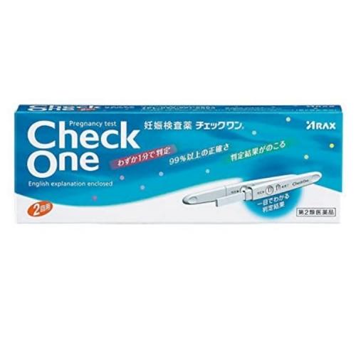 【直邮】日本Check One验孕棒备孕高精度测试笔