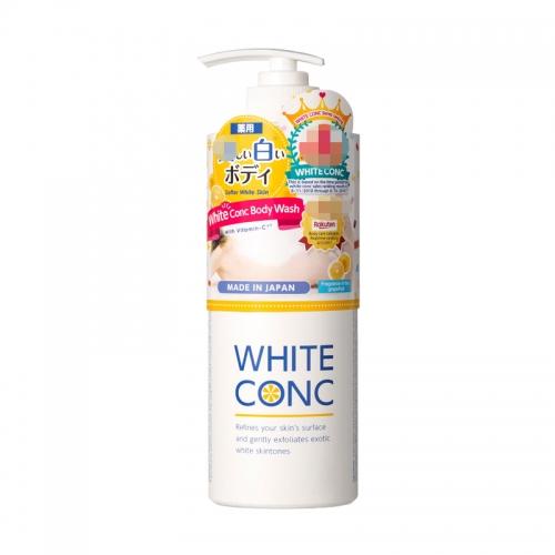 【保税江阴仓】日本WHITE CONC全身亮白美肤沐浴露600ml