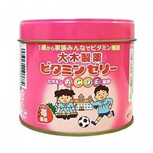 【直邮】日本大木维生素软糖120粒草莓味
