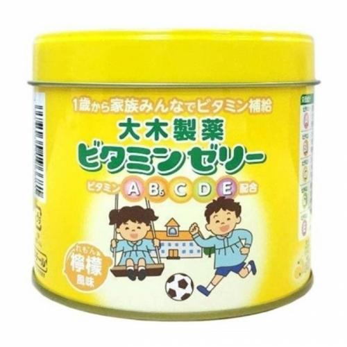 【直邮】日本大木维生素软糖柠檬味ABCBE120粒