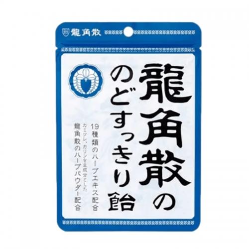 【直邮】日本RYUKAKUSAN龙角散润喉糖喉咙痛原味88g