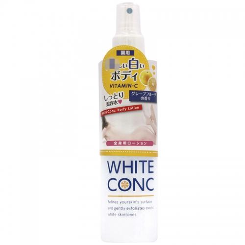 【保税江阴仓】日本WHITE CONC身体润白保湿喷雾修复美容水245ml