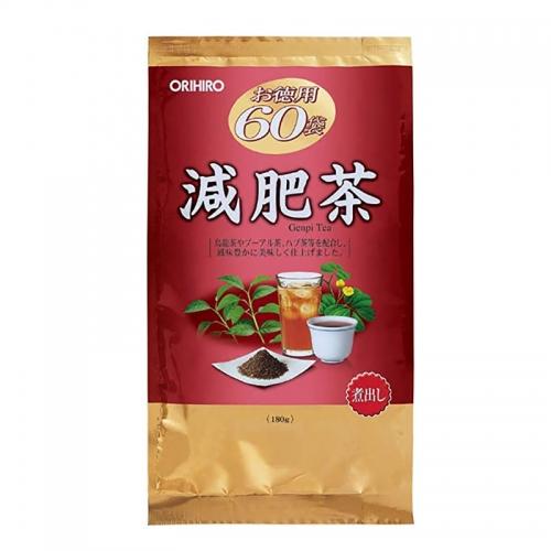 【直邮】日本ORIHIRO立喜乐经济减肥茶60包