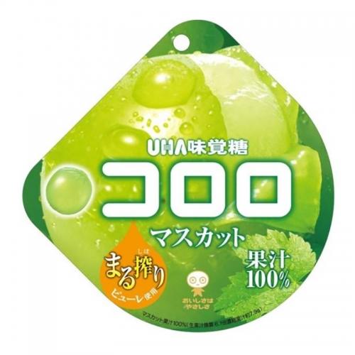 【直邮】日本UHA悠哈酷露露果汁软糖葡萄味48g(日期202...